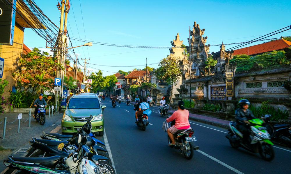 Det kan være hektiske tilstander i Ubud, men det er aldri langt til roligere omgivelser utenfor byen. Foto: Preben Danielsen