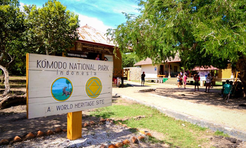 Komodo Nasjonalpark er oppkalt etter verdens største øgle komodovaranen, som kun lever akkurat her. Foto: Preben Danielsen
