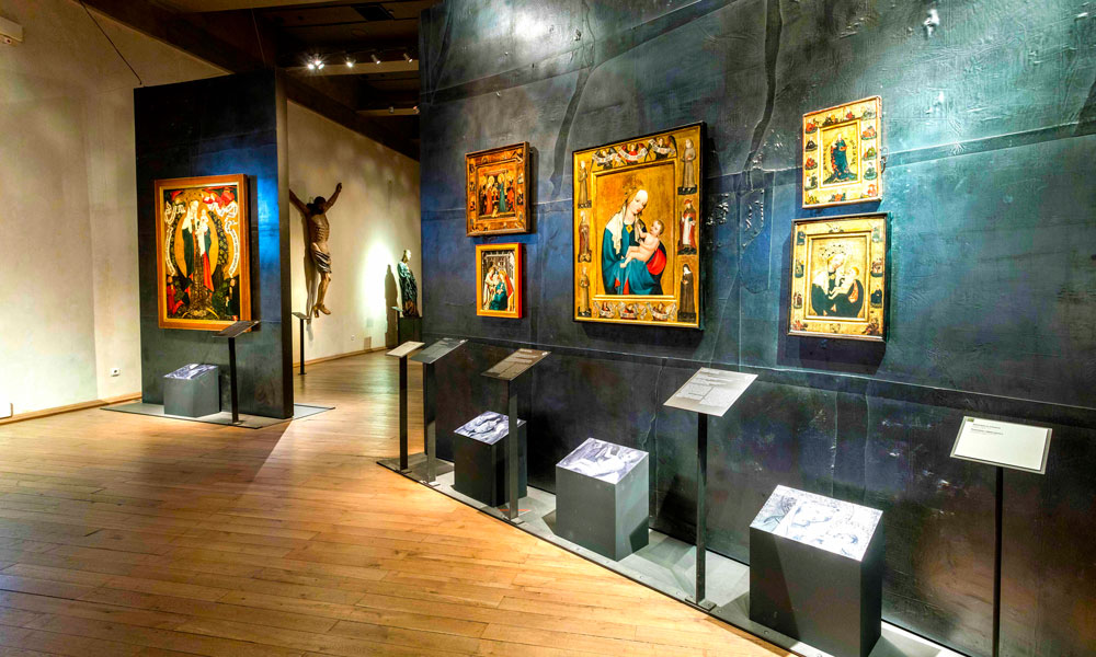 Agnesklosteret. Foto: National Gallery in Prague