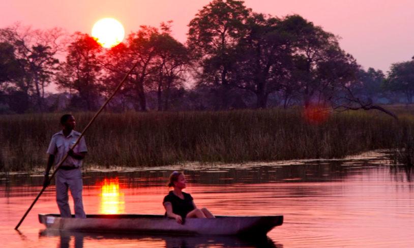 5. Okavango by boat