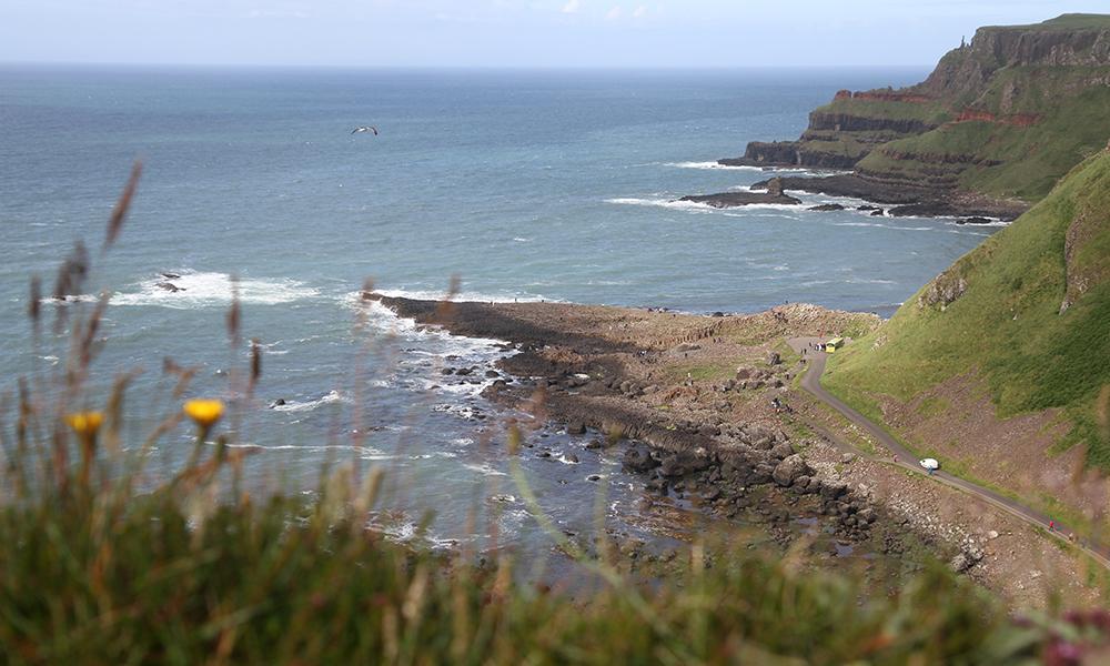 Nord-Irland er smykket med flott natur langs hele kysten. Foto: Runar Larsen