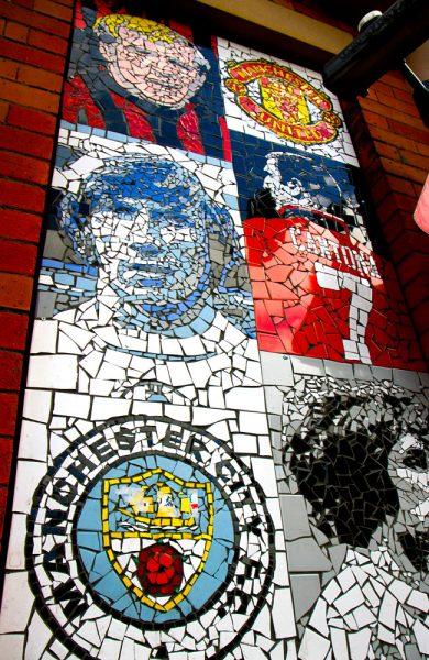 Lær om lokal og internasjonal fotballhistorie på Manchesters fotball-museum. Foto: Runar Larsen