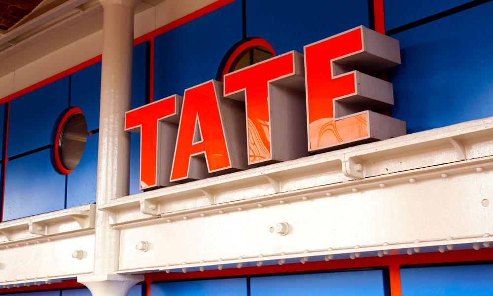 Hold deg oppdatert i kunstens verden på Tate Modern. Foto: Runar Larsen