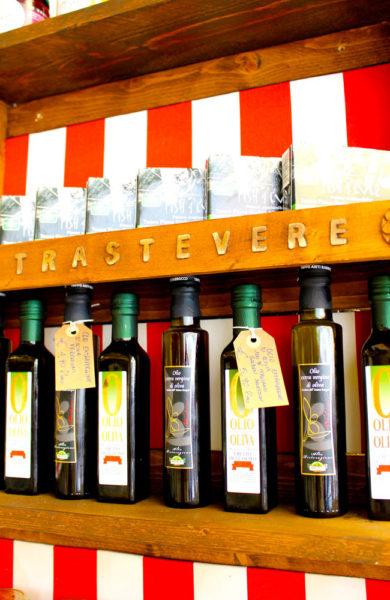 Kjøp med gode råvarer fra markedet på Campo de' Fiori, og prøv å lage maten selv. Foto: Ida Anett Danielsen