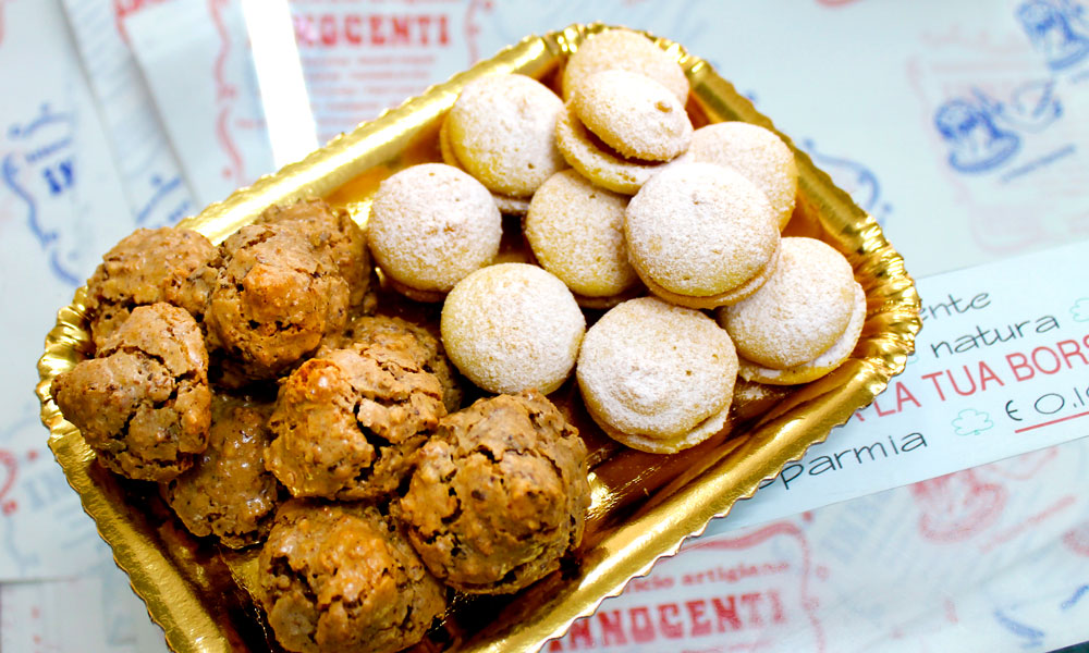 Smakfulle kaker fra Innocenti. Foto: Ida Anett Danielsen