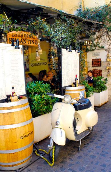 I ekte Italiensk stil kan du avslutte dagen med en hyggelig kveld på en av byens mange autenstiske restauranter. Foto: Ida Danielsen
