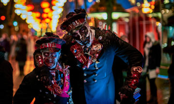 Halloween i Tivoli 2016. Scary Kontrollører Aften