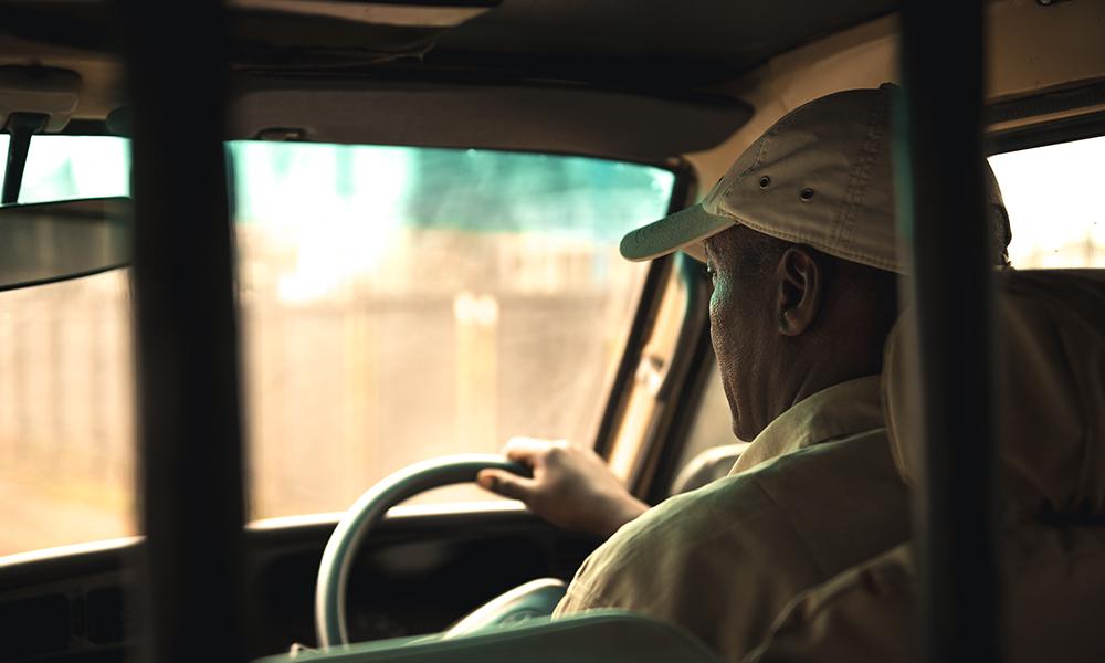 På vei ut av Nairobi. Foto: Stian Klo