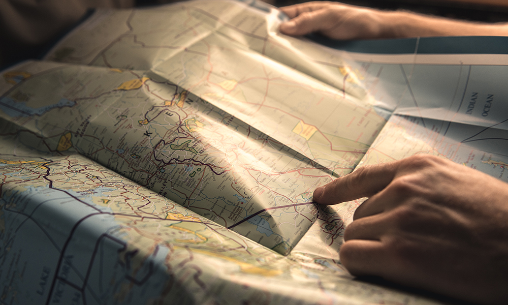 Amboseli på kartet. Foto: Stian Klo