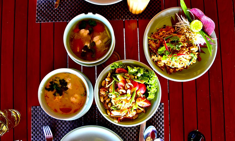 På Centara Ras Fushi fpr man en smak av Thailand. Foto: Torild Moland