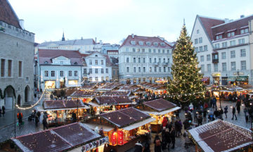 Med koselige julemarked, avslappende spa og billig shopping er Tallinn perfekt for en weekendtur før jul. Foto: Ida Anett Danielsen