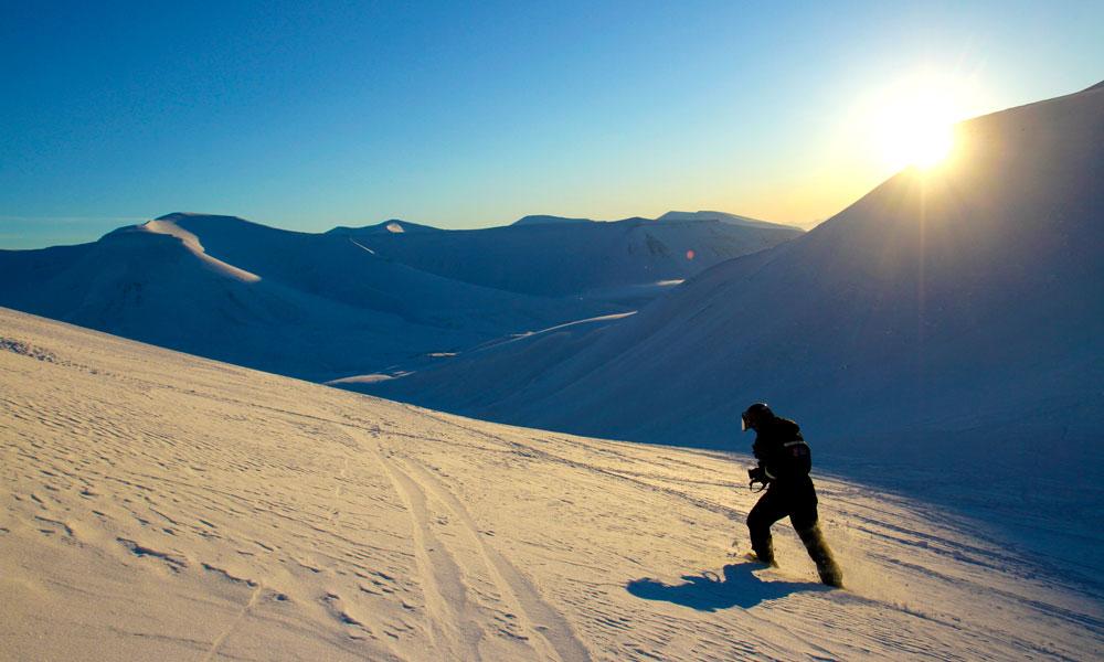 Svalbard er den mest ekstreme og eksotiske delen av Norge. Foto: Runar Larsen