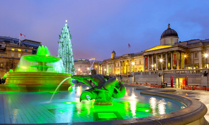 1. Trafalgar Square