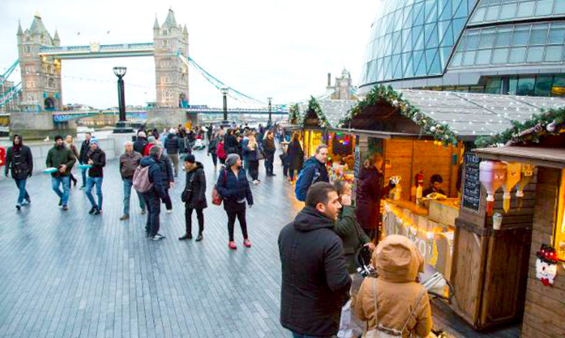 6. Christmas by The river