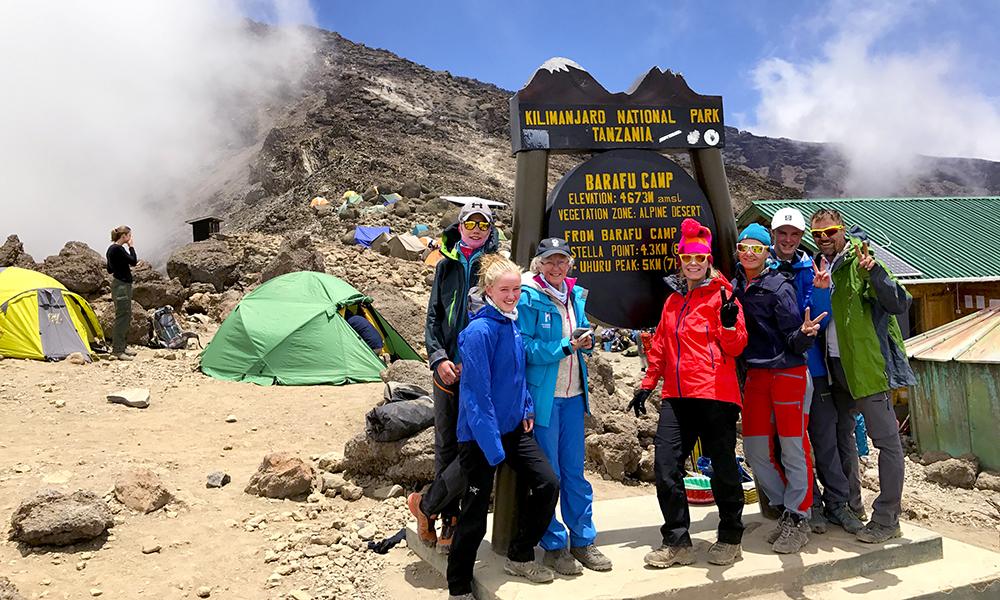 Kilimanjaro er verdens høyeste frittstående fjell, så en tur til toppen er ikke en tur i parken. Foto: Ronny Frimann