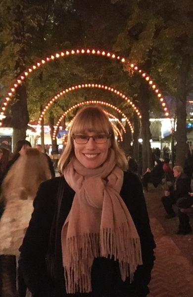 Københavneren Sine Louise Schmidt elsker byen sin, spesielt i de koselige juletider. Foto: Privat