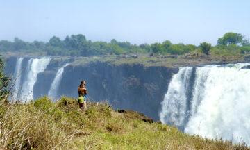 Victoria Falls har forhekset turister helt siden David Livingstone så dem for første gang i 1855. Nå er det klart for at flere nye turister oppdager dem. Foto: Runar Larsen
