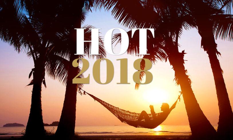 De beste reisemålene i 2018