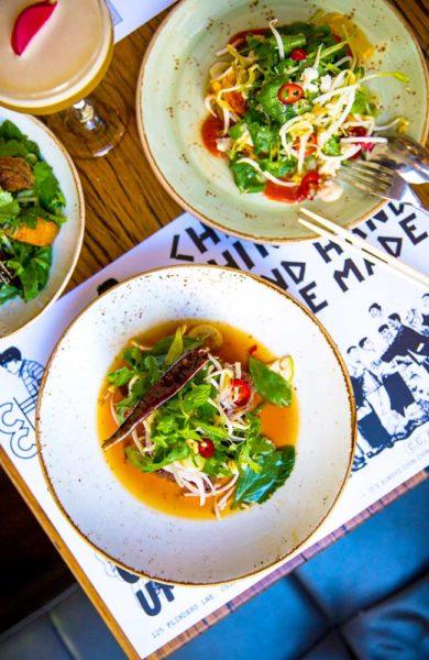 Trendy kaféer serverer smakfulle lunsjretter inspirert fra alle verdens hjørner. Foto: Visit Victoria