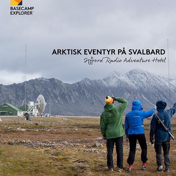 Basecamp Spitsbergen sidestolpe mars 2018