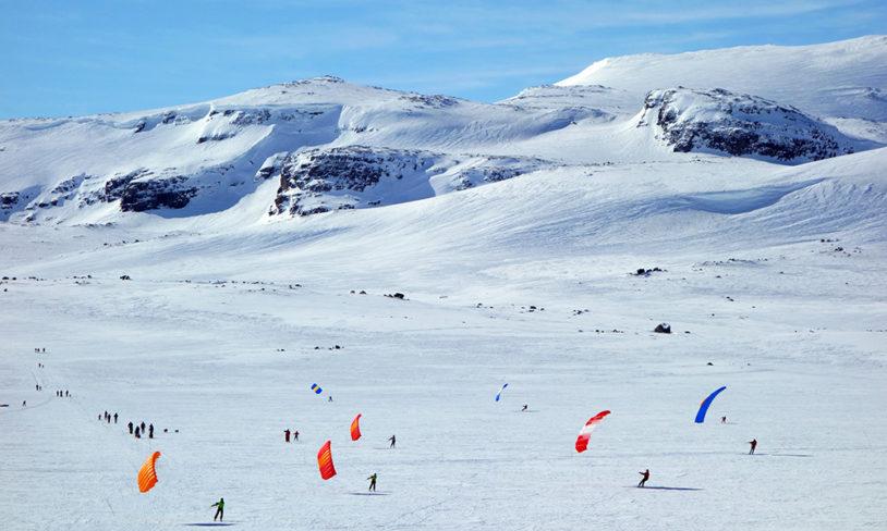 4. Skiseiling, Finse