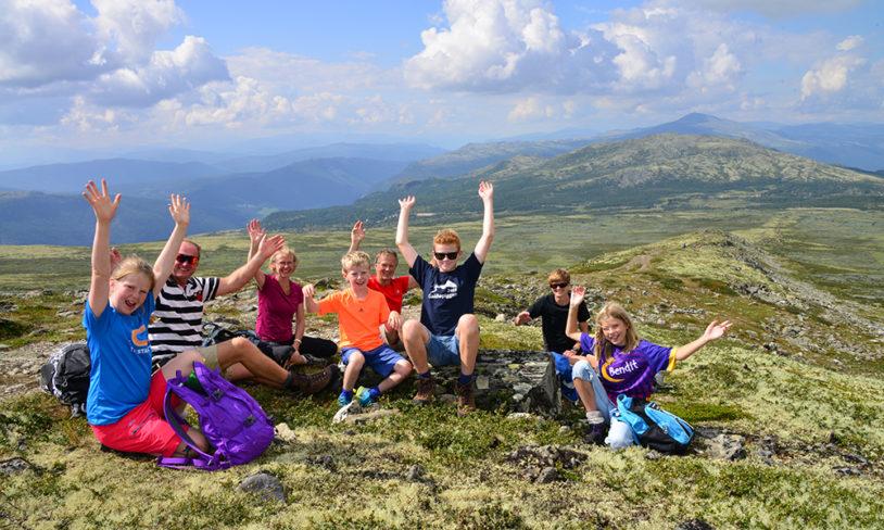 9 familieturer i fjellet