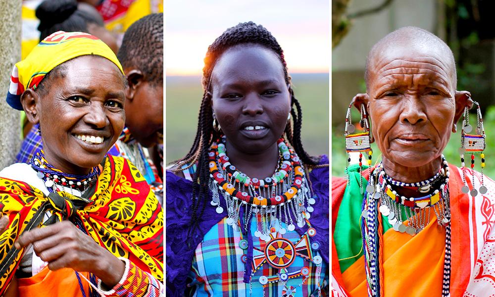 afrikas dyr på savanen
