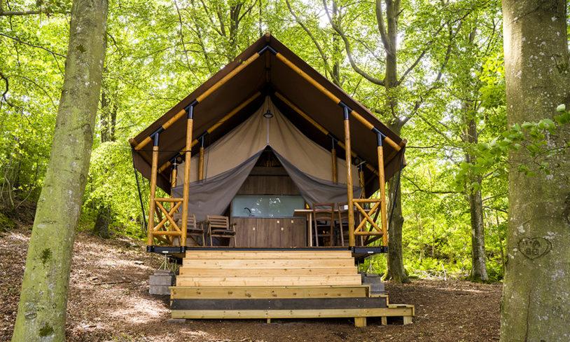 3. Camping og blåskjellsafari