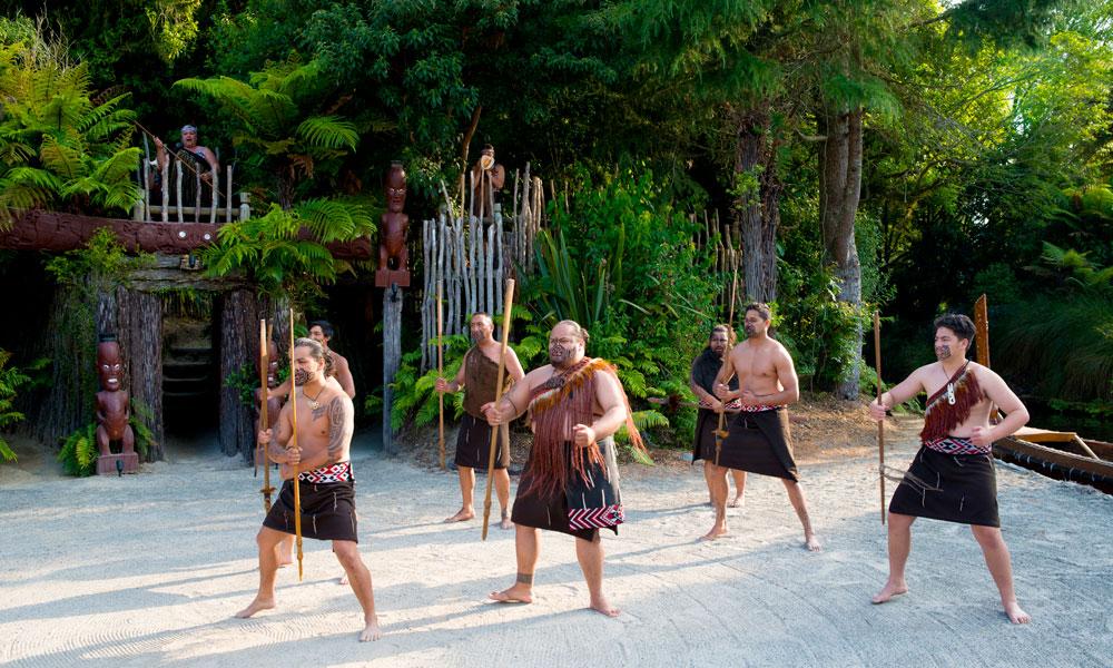 Maorier klare for dans