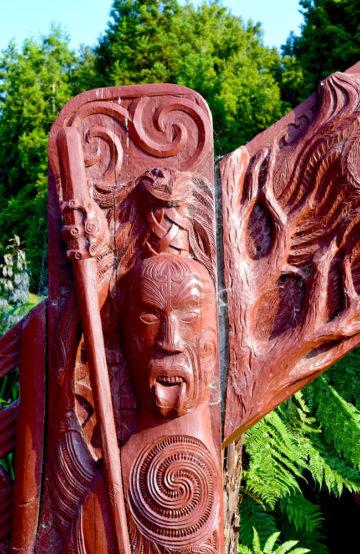 Maoristatue