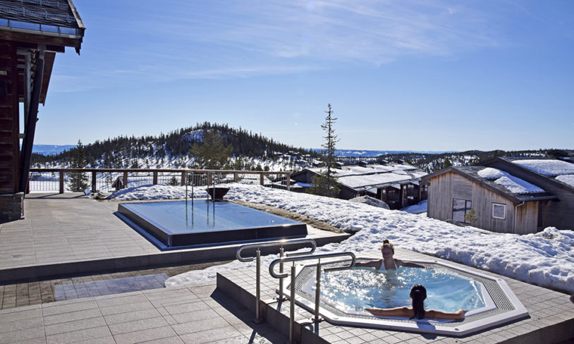 4. Luksus på fjellet, Norefjell