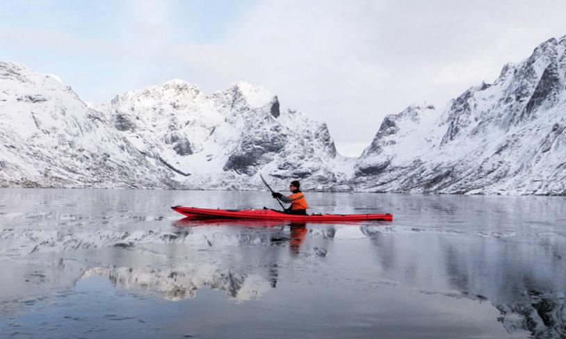 5. Vinterpadling, Lofoten