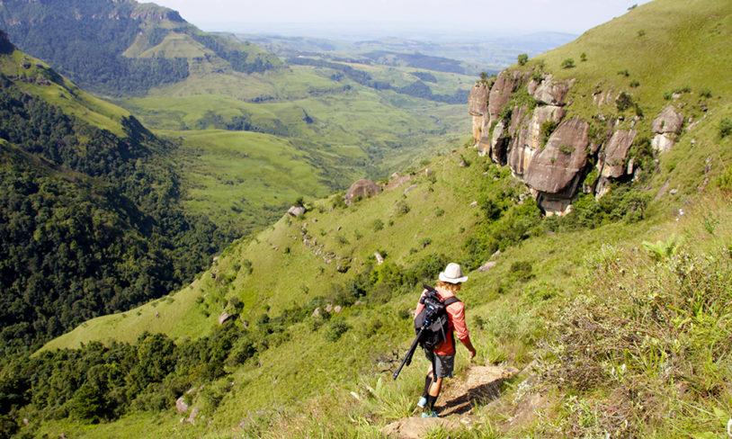 6. Drakensberg, Sør-Afrika