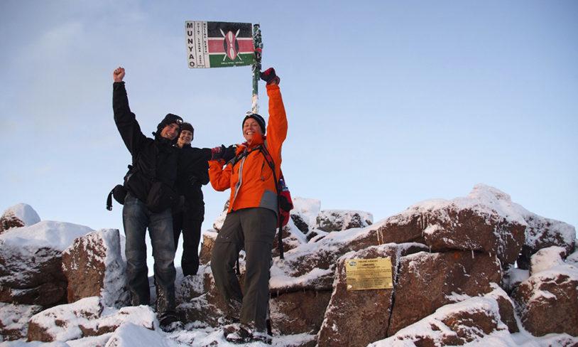 1. Mount Kenya, Kenya