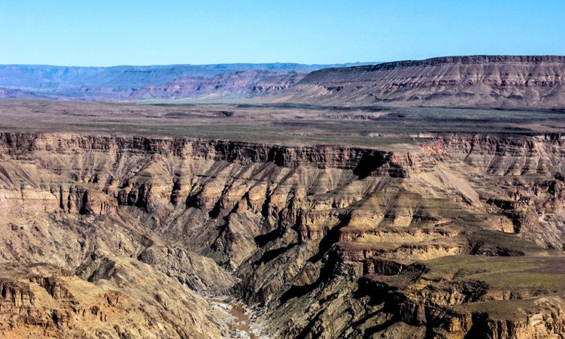3. Fish River Canyon, Namibia