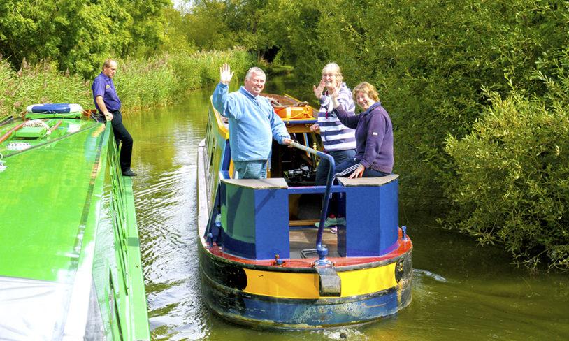 2. Kanalbåtferie i England