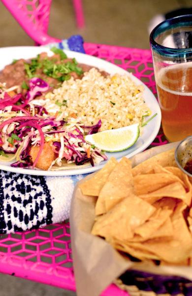 Meksikansk mat.