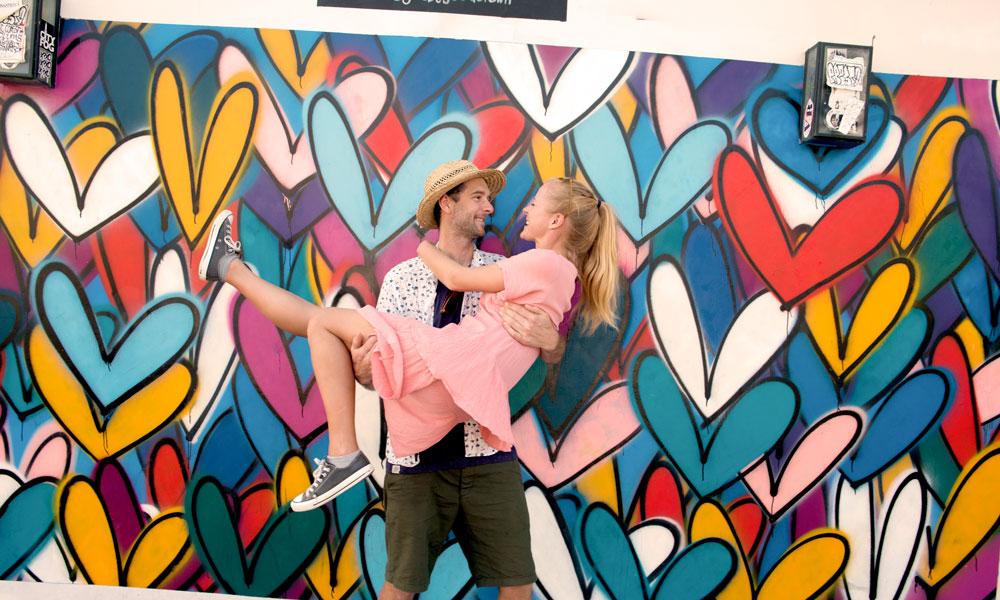 Par foran lovewall