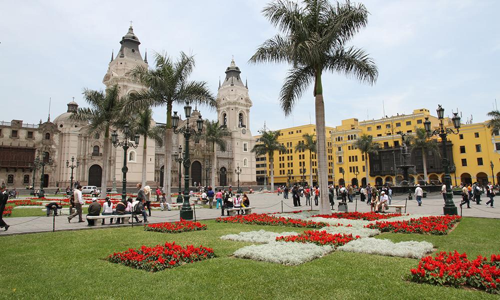 Plaza Major – i hjertet av gamlebyen.