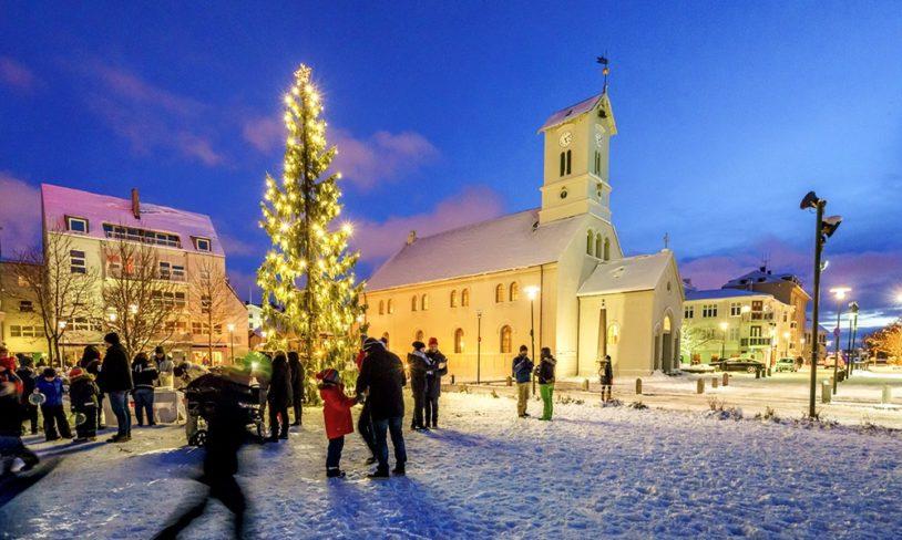 8 Gå rundt juletreet