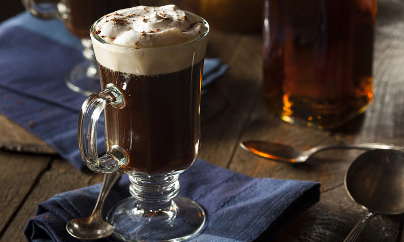10 Irish coffee
