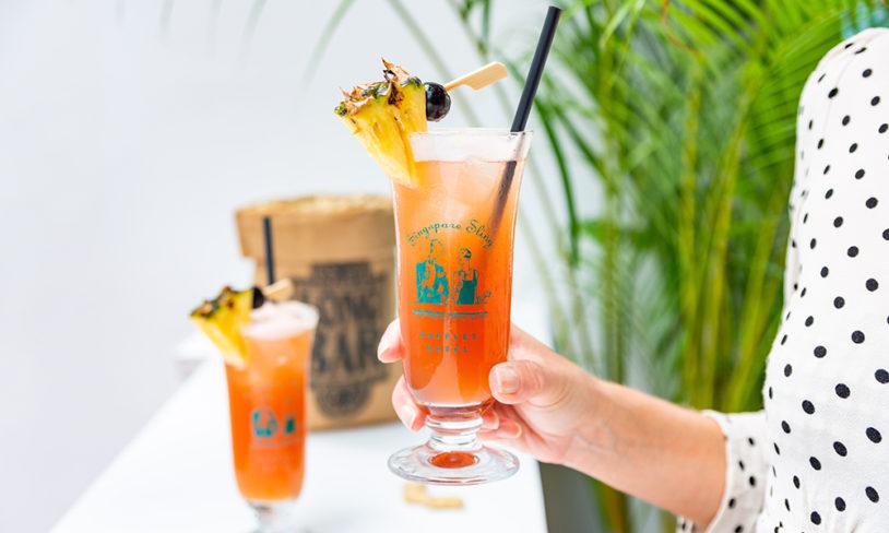 8 Singapore Sling
