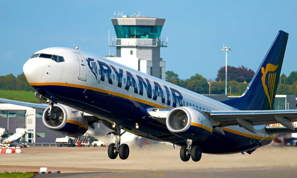 Ryanair fly letter