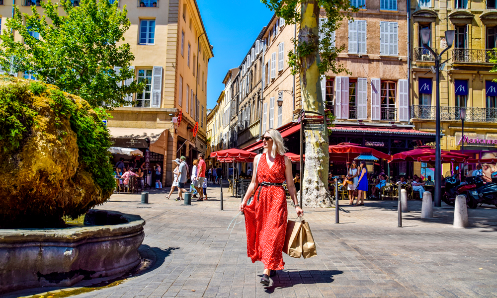 Shopping, Aix En Provance