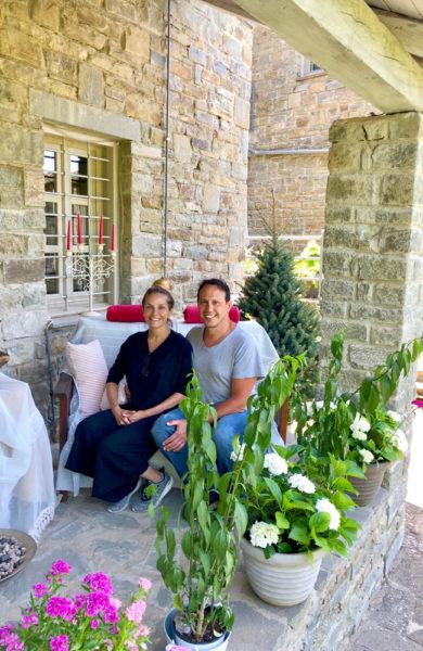 Elsa Exarchou og mannen Kostas Kenteris