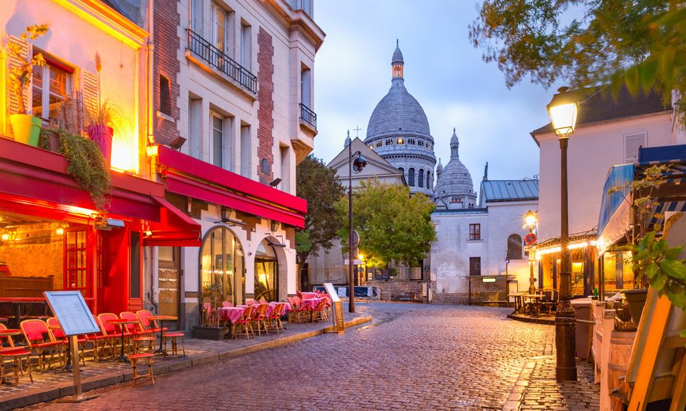 Gate i Montmartre