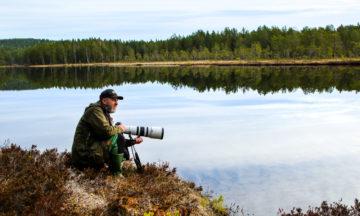 Fotograf og biolog Tom Schandy