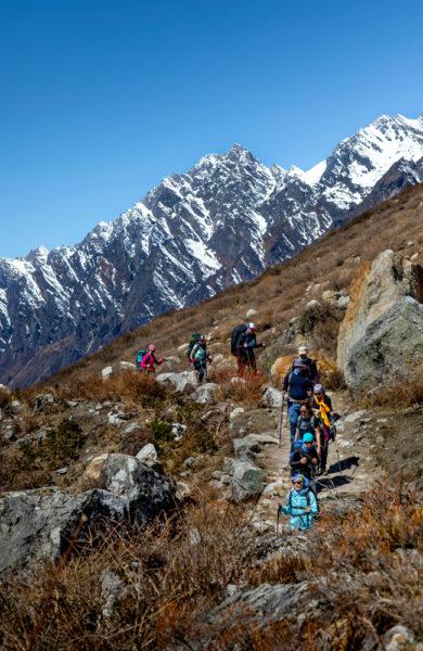 Vandring i Nepals fjell