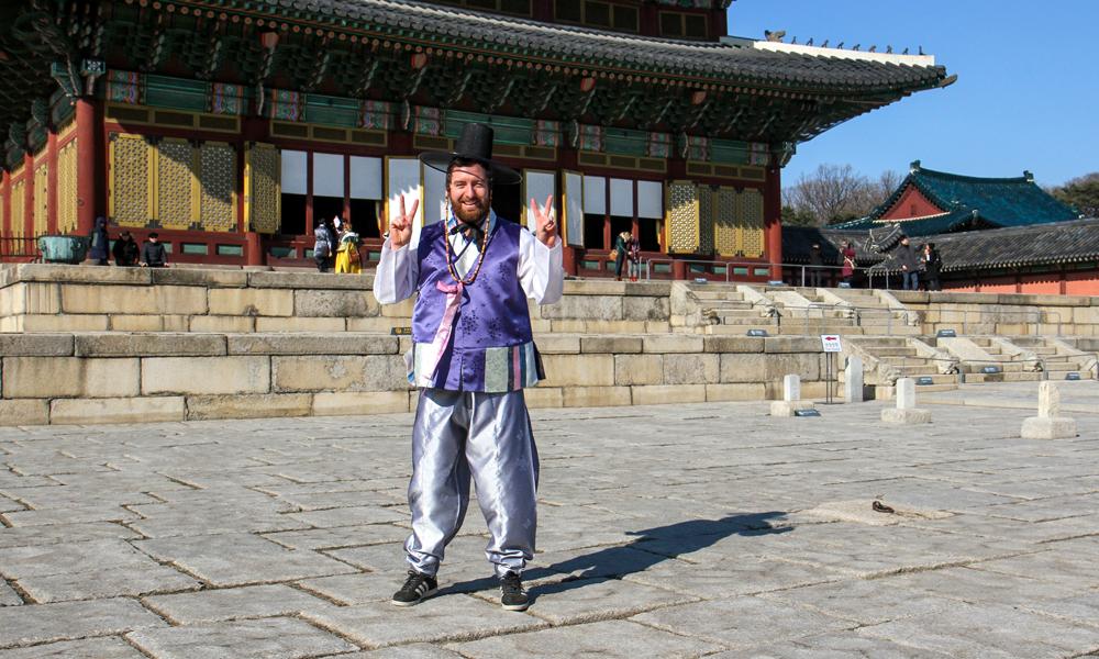 Sør-Koreansk folkedrakt