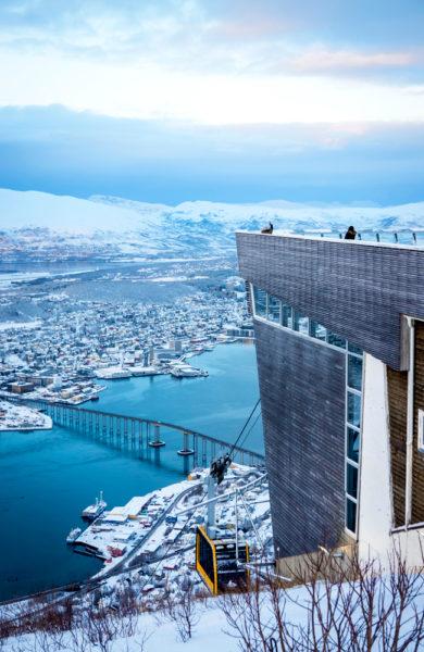 Utsikt fra fjellheisen.